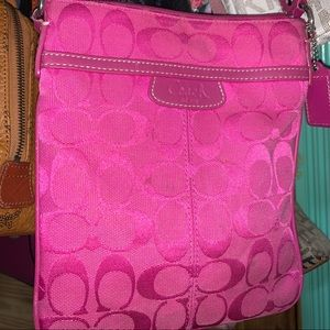 Coach Hot Pink Crossbody Bag